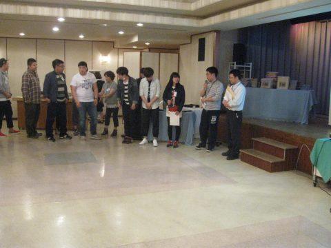 【画像】北短チームは中国語のクイズを行いました