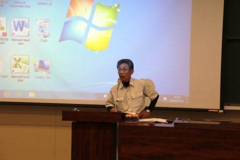 【画像】岩谷先生の開会の挨拶