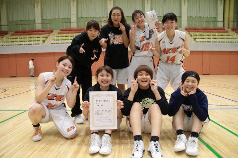 6連覇おめでとう! MVPは1年生白石さん