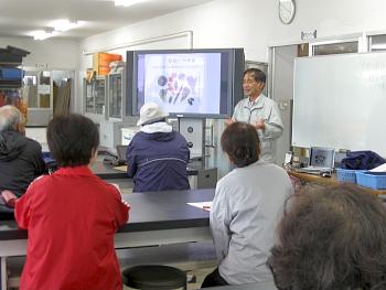 次ぎにpptを使って北海道で珍しい野菜等について講義がありました