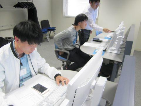 パソコン関連検定対策講座の受講体験で指導を受ける