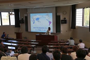 拓殖大学北海道短期大学からも6名の先輩が参加しています。