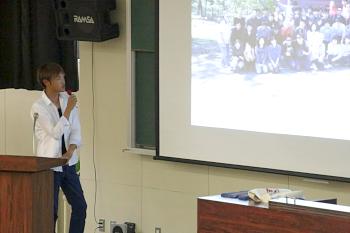 卒業生で1年半アメリカ研修を行った坂本君から報告です。