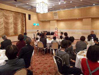 菊入三恵さんのコンサート