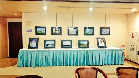 3月 市内ホテルにて卒業記念写真展