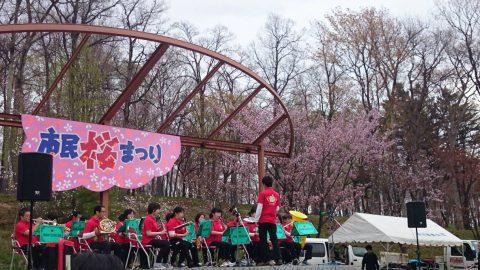 5月の市内桜まつりで撮影会