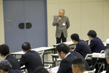 篠塚学長から世界の農業のために日本の農業、北海道の農業が頑張る必要があるとの指摘がありました