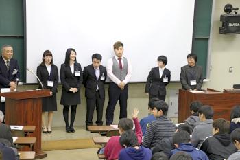 岡﨑ゼミ発表学生