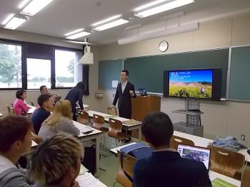 続いて東京から来られた国際農業者交流協会からも長期の研修について説明がありました