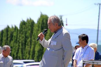 篠塚学長の挨拶