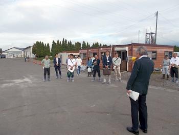 篠塚学長が歓迎の挨拶をされました