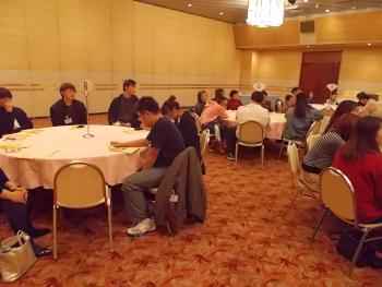 本学留学生も約30人が参加しました