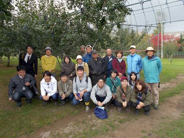 最後に参加者全員で記念撮影です。林園主様ありがとうございました