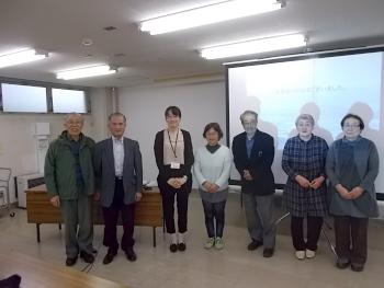 拓大北海道短大の社会人学卒業生生も多く参加してくれました