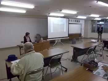 深川市民公開講座第4回目が開催されました。緒講師は岡田先生です。