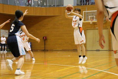 準決勝 北海道武蔵女子短期大学戦 1年生も3P炸裂