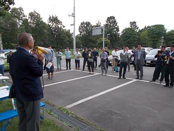 主催者を代表して田中学科長の開会のご挨拶