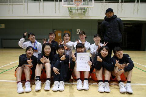 9連覇おめでとう! MVPは成田さん(2年)