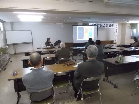 藤田准教授の丁寧な説明