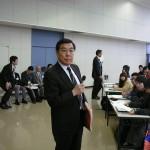 4 校歌指導、勝谷先生