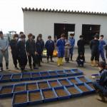 6 水稲歴代品種の播種作業の冊名を聞きます