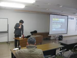 1 小林先生の挨拶と今日の講演内容について