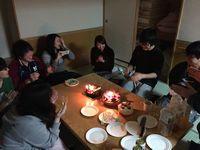 合宿3誕生日