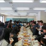 21 学生試食会場